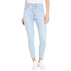 Levi's Wedgie Skinny Jeans in Opal Shimmer 29 or 8